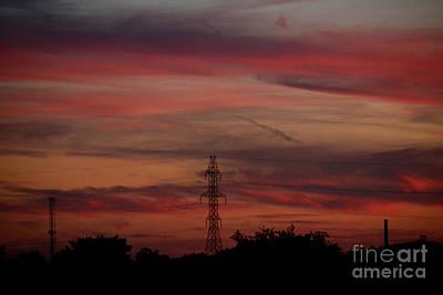 Amazing Colorful Bright Sunset Art Print