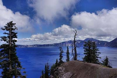 Photograph - Amazing Crater Lake by Patricia Strand