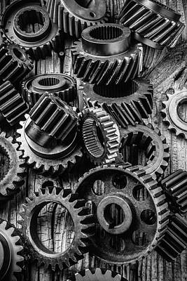 Mechanism Photograph - Amazing Gears by Garry Gay