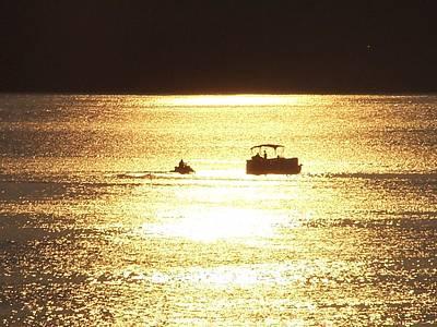 Owensboro Kentucky Photograph - Amazing Golden Sunset by Mike Hazelwood