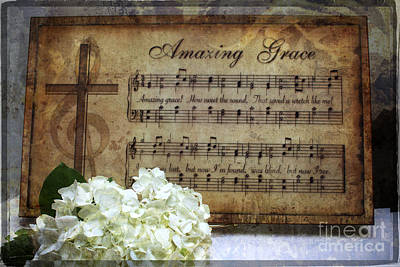 Photograph - Amazing Grace - Christian Home Art by Ella Kaye Dickey