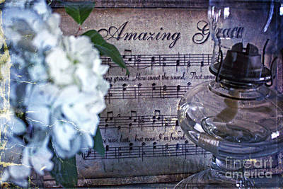 Photograph - Amazing Grace - Christian Home Art II by Ella Kaye Dickey