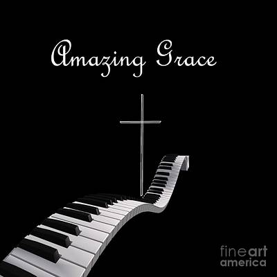 Christianity Painting - Amazing Grace by Eloise Schneider