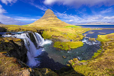 Photograph - Amazing Kirkjufell Waterfall Iceland by Matthias Hauser