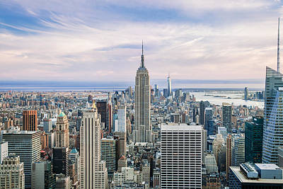 New York City Skyline Photograph - Amazing Manhattan by Az Jackson
