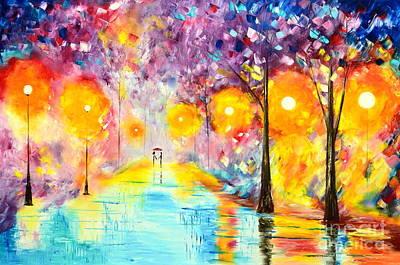 Amazing Nights Art Print
