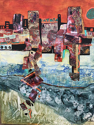 Mixed Media - Amazing Places by Judith Visker