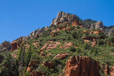 Photograph - Amazing Red Rocks View 2 by Bonnie Follett