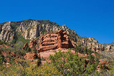 Photograph - Amazing Red Rocks View 3 by Bonnie Follett