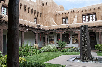 Photograph - Amazing  Santa Fe Adobe  by Brenda Kean