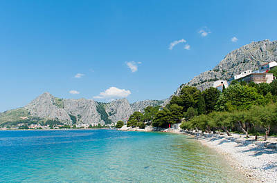 Photograph - Amazing Seascape In Omis. by Iryna Soltyska