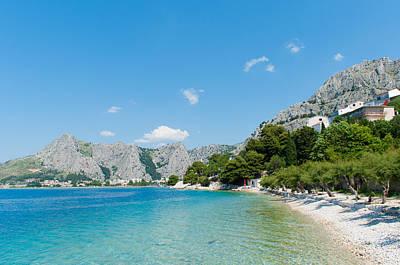 Photograph - Amazing Seascape In Omis. by Iryna Soltyska
