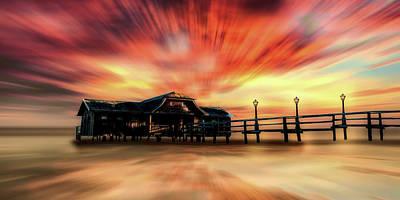 Photograph - Amazing Sunset by Pixabay