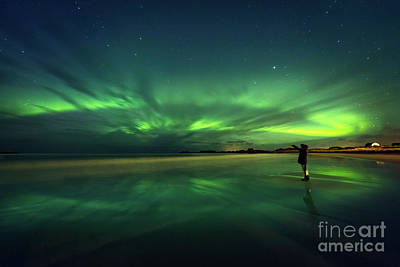 Photograph - Amazing View On The Northern Lights by Anna Om