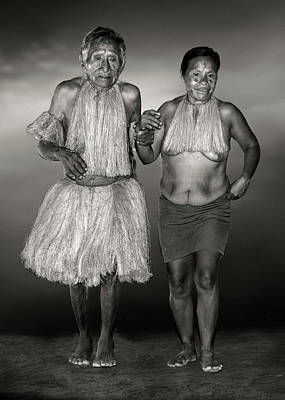 Photograph - Amazon Couple by Maria Coulson