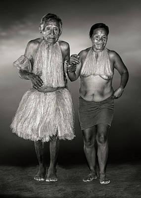 Photograph - Amazon Couple by Maria Coulson