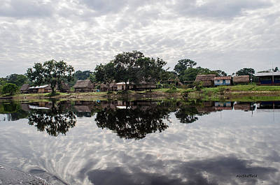 Photograph - Amazon Reflections 2 by Allen Sheffield