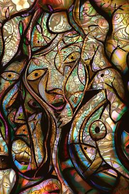 Trippy Painting - Amazon Vibez by Andrew Osta
