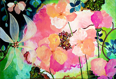 Painting - Pink  Blossoms by Patricia Lazaro