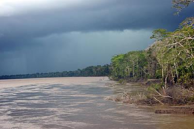 Amazonian Storm Study Number One Art Print