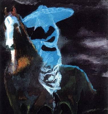 Painting - Amazzone Notturna by Enrico Garff
