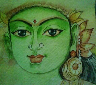 Ambal-hindu Goddesses  Original by Nithya