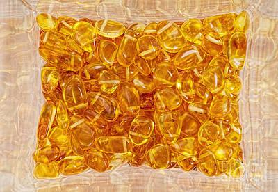 Baltic Amber Photograph - Amber #4903 by Andrey Godyaykin