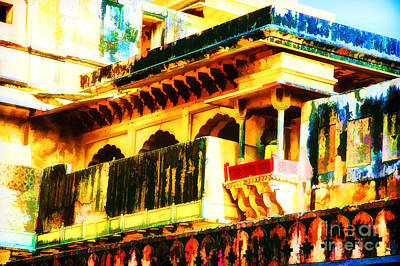 Photograph - Amber Fort Artistic by Rick Bragan