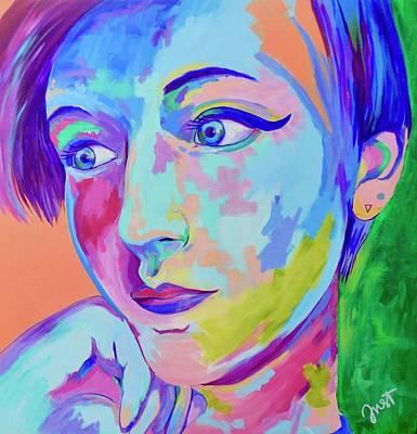 Painting - Amber  by Janice Westfall