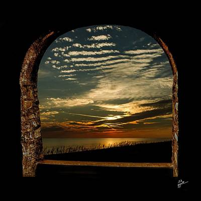 Photograph - Amber Skies by TK Goforth