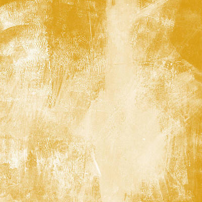 Gold Painting - Amber Waves by Linda Woods