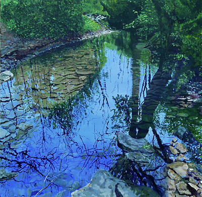 Painting - Amberly Creek by Thomas Stead