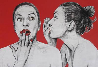 Ambiface 2 Art Print by Jovana Kolic