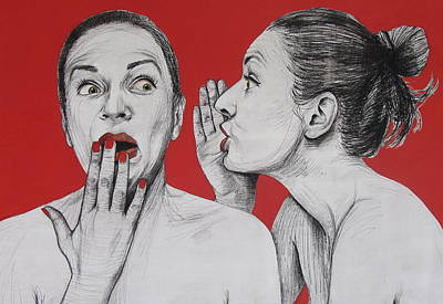 Painting - Ambiface 2 by Jovana Kolic