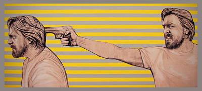 Painting - Ambiface 6 by Jovana Kolic