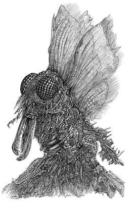 Drawing - Ambiton by Joe MacGown