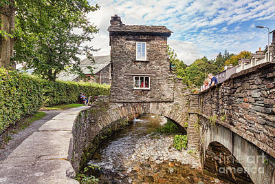 Ambleside Art Print by Colin and Linda McKie