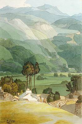 Vale Photograph - Ambleside by Francis Towne