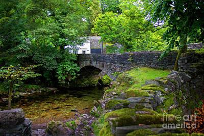 Photograph - Ambleside Stone Bridge by Stuart Row