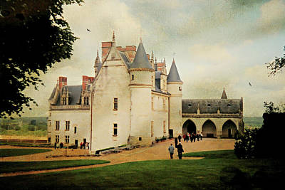 Amboise Photograph - Amboise Castle  by Diana Angstadt