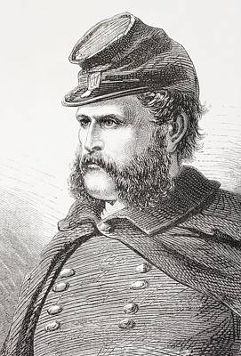 Ambrose Everett Burnside, 1824- 1881 Art Print