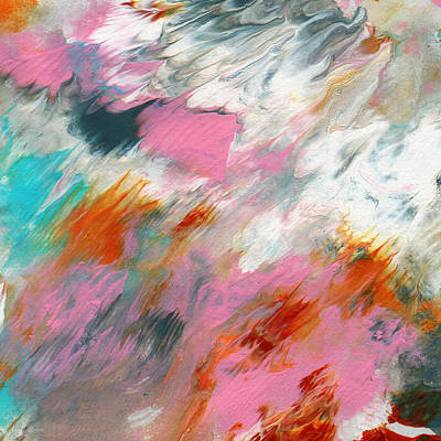 Abstract Royalty-Free and Rights-Managed Images - Ambrosia 2- Abstract Art By Linda Woods by Linda Woods