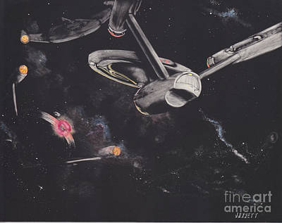 Ambush In The Neutral Zone Art Print
