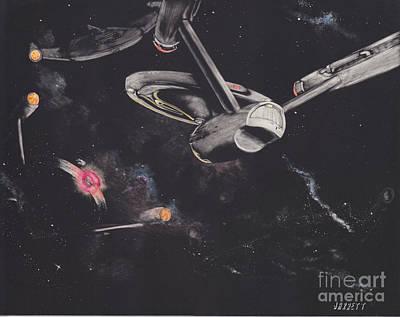 Ambush In The Neutral Zone Original by Matthew Jarrett