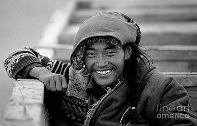 Photograph - Amdo Smile - Tibet by Craig Lovell