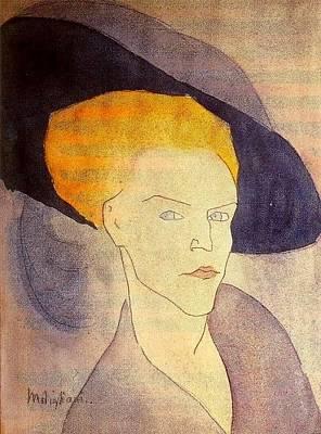 Amedeo Modigliani 1884-1920 - 16823 Art Print
