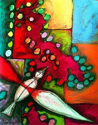 Painting - Ameeba 59- Aerial 7 by Mr AMeeBA