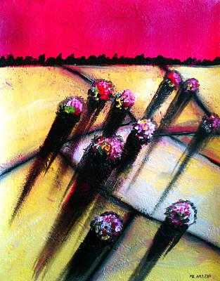 Painting - Ameeba 63- Aerial 11 by Mr AMeeBA