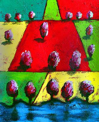 Painting - Ameeba 64- Aerial 12 by Mr AMeeBA