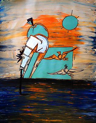 Painting - Ameeba- Horse 1 by Mr AMeeBA
